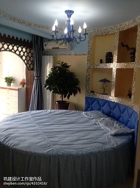 精美小户型卧室地中海实景图片大全