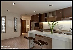 欧式风格厨房整体厨柜图片