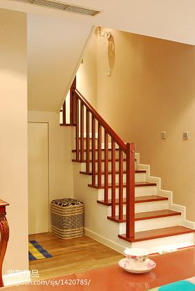 简约别墅现代楼梯装修设计