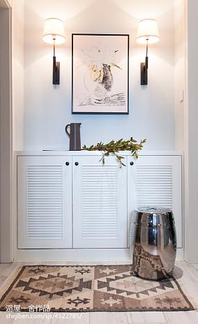 小户型欧式风格玄关鞋柜设计