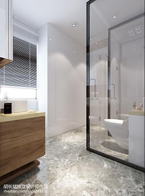 113平米现代别墅卫生间实景图片欣赏