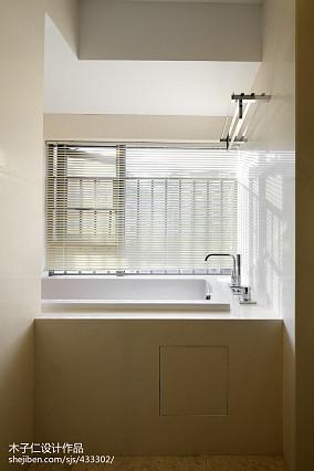 2018卫生间中式装修设计效果图片欣赏