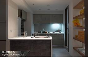 三居室混搭风格厨房效果图大全