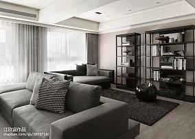 热门85平方二居客厅现代装修效果图片欣赏