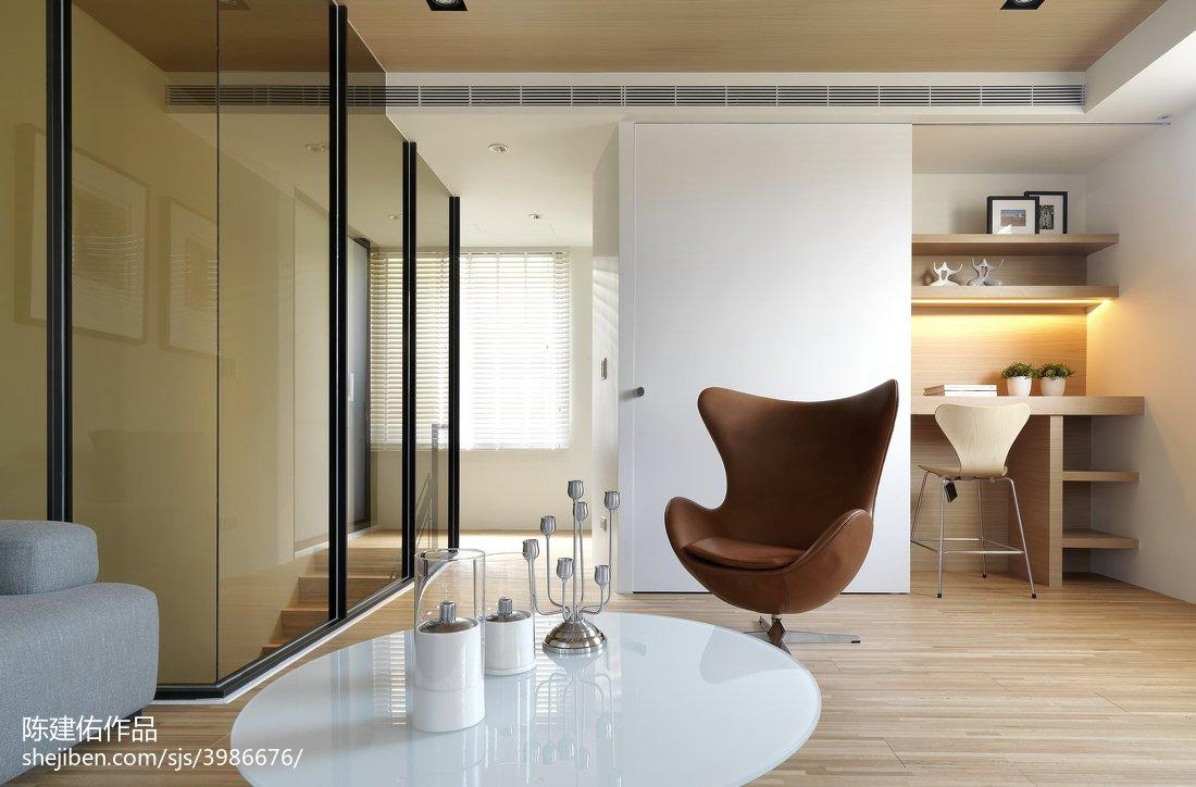 现代风格休闲区装修设计