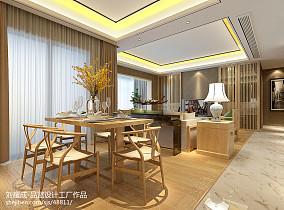 2018精选大小99平中式三居餐厅装饰图片欣赏