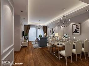 精美100平米三居餐厅欧式装修效果图片欣赏