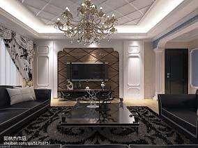 格调80平米2室一厅效果图