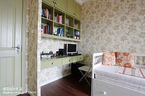 质朴117平美式三居书房装饰美图