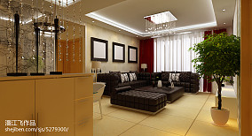 现代简欧风格客厅设计
