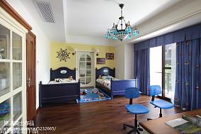 精美121平米美式别墅儿童房装修欣赏图片大全