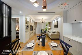 热门79平米二居客厅美式效果图片大全