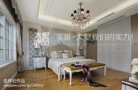 精美复式卧室欧式装修实景图片大全