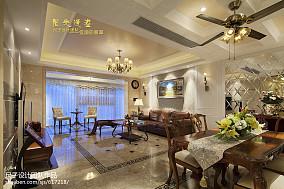 美式风格客厅吊顶图片