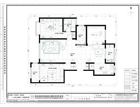 精美面积100平中式三居休闲区装修设计效果图片大全
