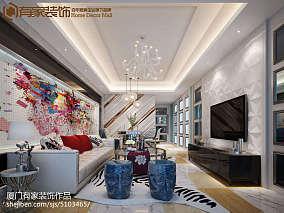 小户型混搭美式风格家装客厅设计