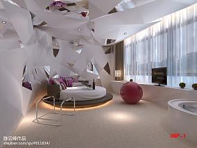 简单60平米一居室装修图