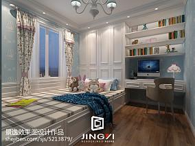 精美小户型卧室欧式装修实景图