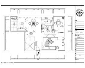 美式风格100平方装修室内客厅图片