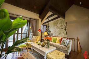 热门135平米美式别墅客厅装修实景图片大全