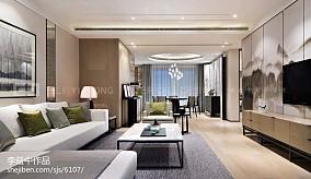 现代风格客厅样板间图片