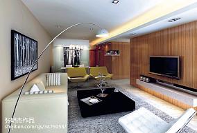 75.5平热门客厅现代装修设计效果图片欣赏