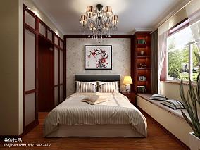 新中式风格卧室装修设计图片