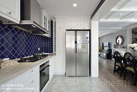 精美美式三居厨房效果图片大全
