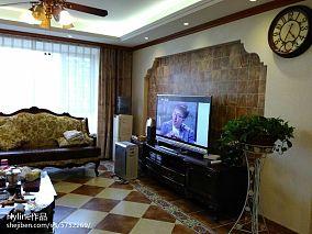 现代客厅沙发背景画