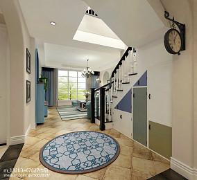 2018精选102平米三居客厅地中海装修设计效果图片大全