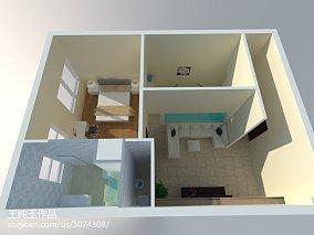 现代风格家装大厅效果图