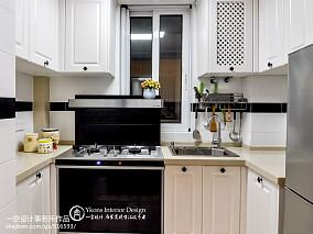 2018精选面积77平混搭二居厨房装修图片