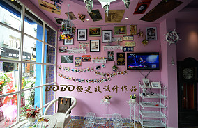 2013家装餐厅酒柜装修效果图片