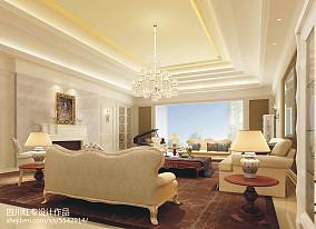 田园风格别墅客厅设计