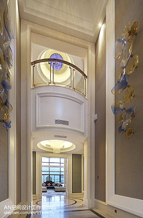 2018精选面积135平别墅客厅欧式装修设计效果图片欣赏