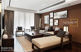 浪漫138平中式二居装修设计图