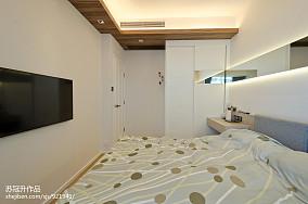 精美108平米三居卧室现代装修设计效果图片