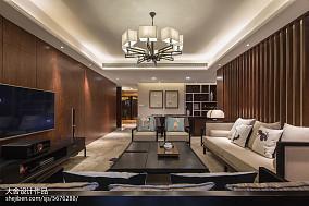 中式四居室客厅装修图片