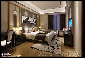 精美面积126平混搭四居卧室装饰图
