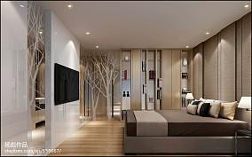 时尚三室两厅一卫装90平修图片