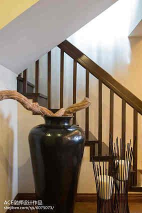 中式楼梯图片