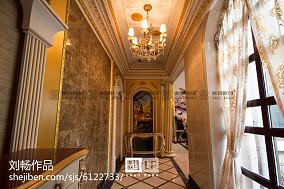 简欧风格室内过道壁灯装修效果图