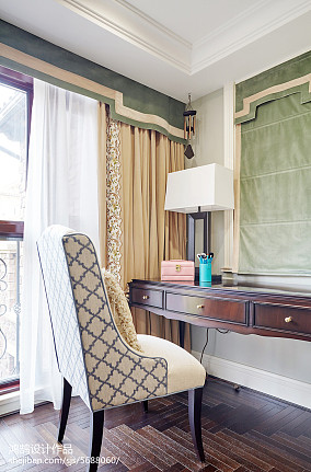 精选面积128平别墅卧室混搭装修图片欣赏