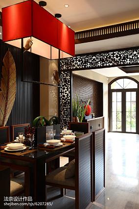 热门东南亚一居装饰图