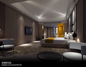 简约中式客厅样板间软装设计图片