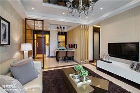 2018现代客厅装修设计效果图片大全