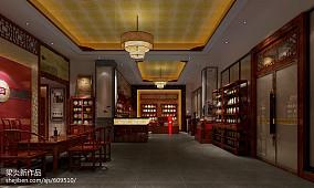 欧式田园风格别墅餐厅装饰效果图
