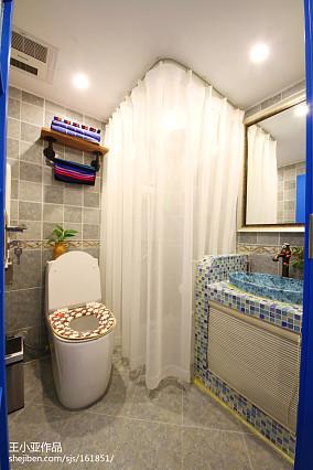 精美复式卫生间装饰图片大全