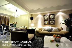 格调标准两室两厅户型效果图