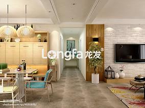热门81平米北欧公寓实景图